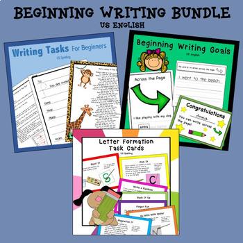 Beginning Writing Bundle US