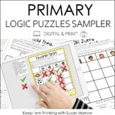 Free Logic Puzzles Sampler DIGITAL AND PRINT