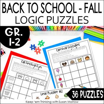 Logic Puzzles Gr. 1-3