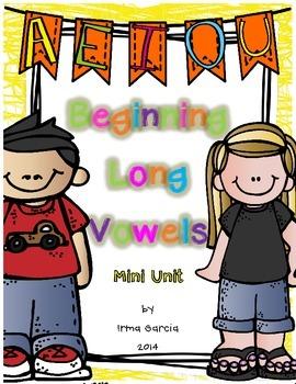 Beginning Long Vowel Mini Unit