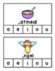 Beginning Long Vowels~ Clip Cards
