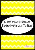 Beginning Maori Activities
