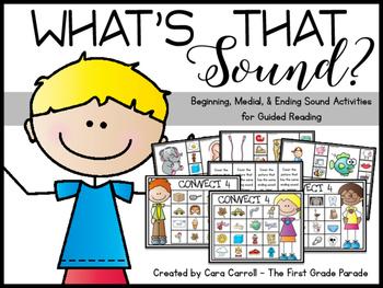 Beginning/Medial/Ending Sounds
