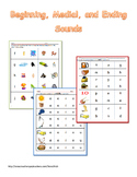 Beginning, Medial, and Ending Sounds