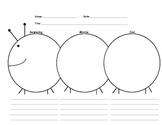 Beginning Middle End Caterpillar Response Sheet