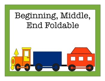 Beginning, Middle, End Foldable