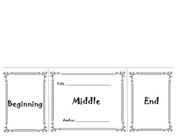 Beginning, Middle, End - Foldable