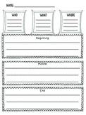 Beginning, Middle, End Graphic Organizer