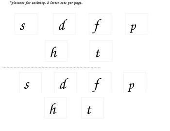 Beginning, Middle, End Letter Sort