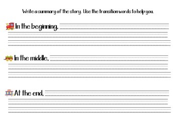 Beginning Middle End Packet