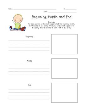 Beginning, Middle, End Reading Comprehension (BME)