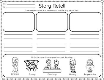 Beginning, Middle, End Retell {Differentiated}