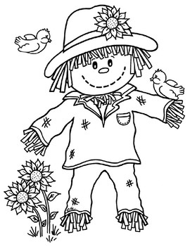 photograph about There Was an Old Lady Printable Template identified as Starting off, Heart, Close: Scarecrow Template by means of Tiny Learn