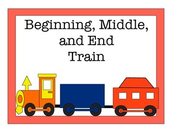 Beginning, Middle, End Sequencing Activity
