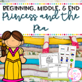 Beginning, Middle, End Using Princess and the Pea