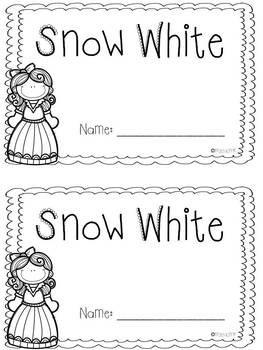 Beginning, Middle, End Using Snow White