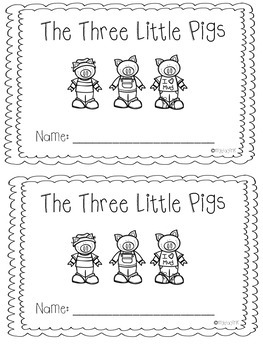 Beginning, Middle, End Using The Three Little Pigs
