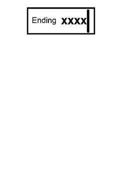 Beginning Middle End Word Sort- Letter S