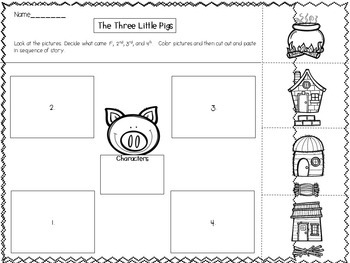 Beginning, Middle, & End Writing Stories