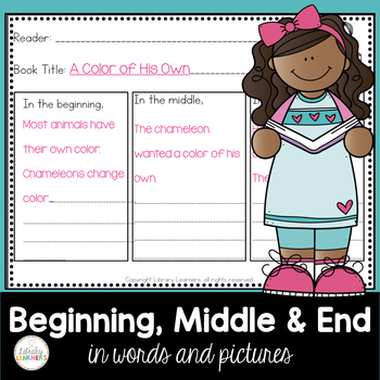 Beginning Middle End Graphic Organizer