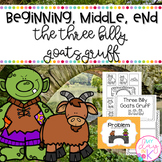 Beginning, Middle, End using The Three Billy Goats Gruff