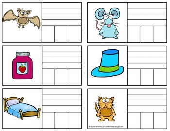 Editable CVC Blending Cards