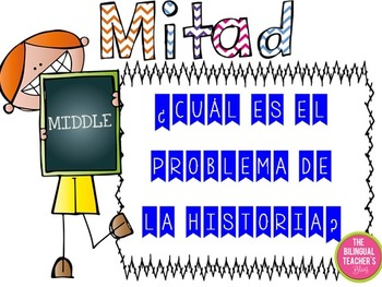 Beginning, Middle and End Posters in Spanish