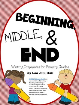Beginning, Middle, and End - Sequence Writing