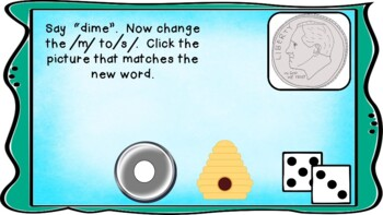 Beginning, Middle, and End Sound Game (Change the Sound) BME Active Board