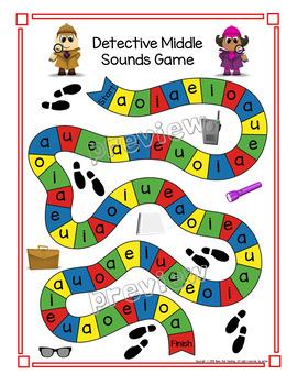 Beginning sounds, middle sounds, and end sounds Phonemic MEGA Bundle