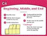 Beginning, Middle, and End (Common Core RL 1.2, RL 2.2)