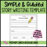 Beginning, Middle and End Story Writing Template With Prim