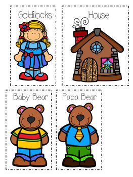 Beginning, Middle, and End Using Goldilocks and The Three Bears