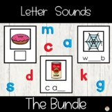 Beginning Middle and Ending Sound Cards Bundle