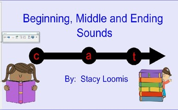 Beginning Middle and Ending Sounds