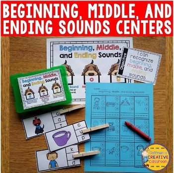 Beginning, Middle, and Ending Sounds