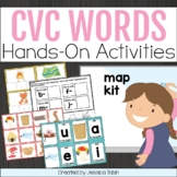CVC Words- Centers for Middle, Ending, and Beginning Sounds