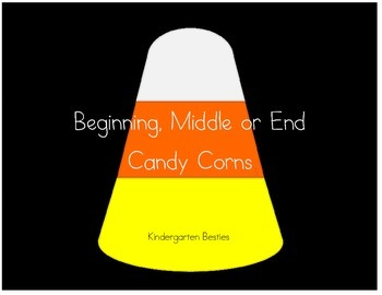Beginning, Middle or Ending Candy Corn