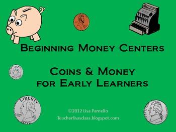 Beginning Money Centers- Set of 5