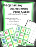 Beginning Multiplication Array Task Cards