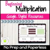 Beginning Multiplication Digital Activities