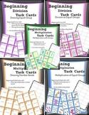 Beginning Multiplication & Division Task Cards Bundle
