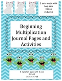 Beginning Multiplication Journal Pages and Activities