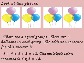 Beginning Multiplication Power Point