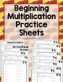 Beginning Multiplication Practice Sheets