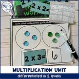 Beginning Multiplication Math Unit for Special Education,