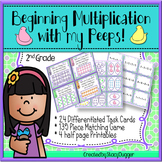 Beginning Multiplication with my Peeps