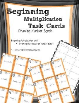 Beginning Multiplication Number Bonds Task Cards