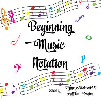 Beginning Musical Notation Packet