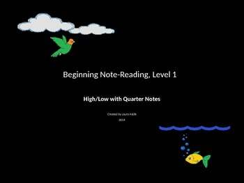 Beginning Note-Reading, Level 1